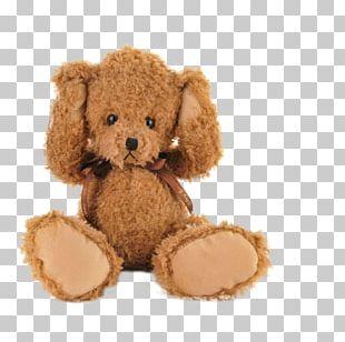Teddy Bear Stuffed Animals & Cuddly Toys Dog Plush PNG