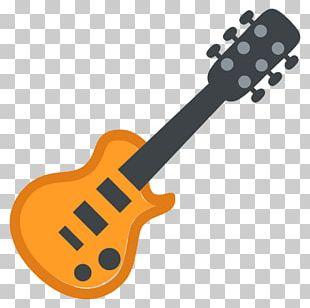 ESP LTD EC-1000 Electric Guitar Emoji Musical Instruments PNG