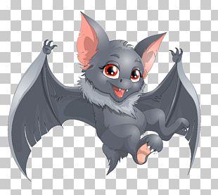 Bat Cartoon PNG