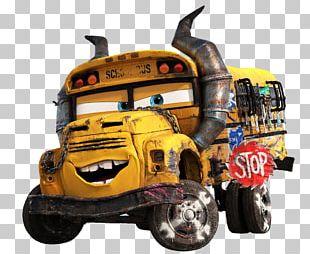 Lightning McQueen Mater Miss Fritter Cruz Ramirez Cars PNG