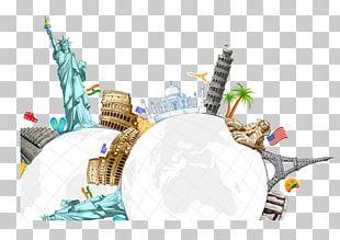 Statue Of Liberty Eiffel Tower Die Geschichtsspirale: Farbige Segmente Zum Ausschneiden PNG