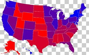 U.S. State Red States And Blue States United States Senate Elections PNG