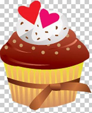 Cupcake Fruitcake Torte Muffin Icing PNG