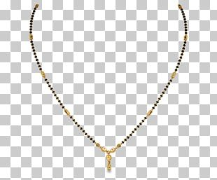 Jewellery Necklace Mangala Sutra Earring Gold PNG