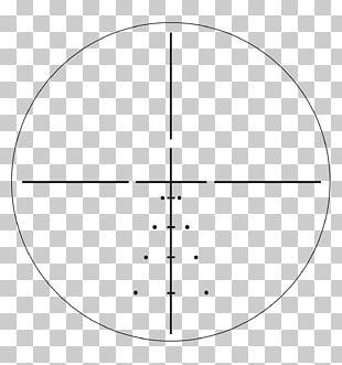 Reticle Telescopic Sight Eyepiece Milliradian Optics PNG