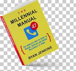 Millennials Brand Logo Font PNG