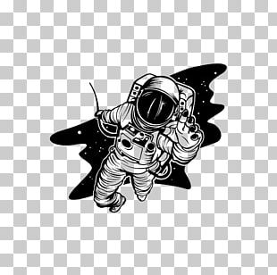 Astronaut Space Suit Outer Space Cartoon PNG
