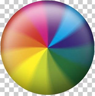 Spinning Pinwheel Beach Ball MacOS Spinning Wheel PNG