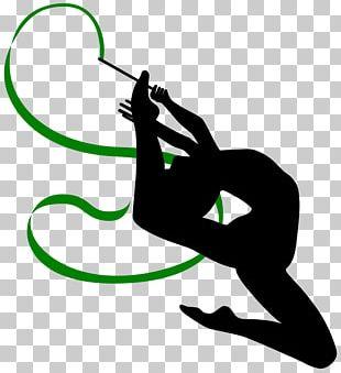 Rhythmic Gymnastics Ribbon PNG