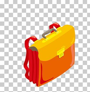 Satchel Backpack School Briefcase PNG
