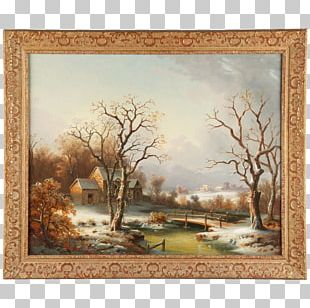 Watercolor Painting Work Of Art Landscape Painting PNG