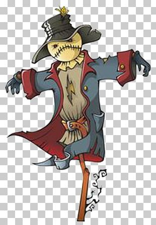 Cartoon Scarecrow Stock Illustration Illustration PNG
