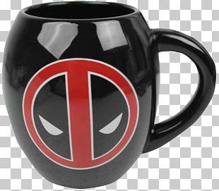 Mug Deadpool Spider-Man Marvel Comics Cup PNG