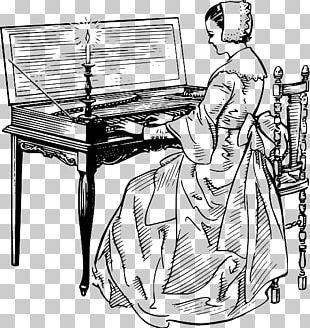 Piano Drawing Musical Instruments Keyboard PNG