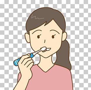 Electric Toothbrush Tooth Brushing Dentist Mouth PNG
