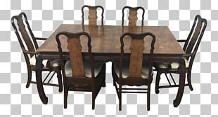 Table Chair Dining Room Matbord Chinese Chippendale PNG