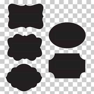 Sticker Blackboard Label Decal PNG