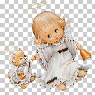 Cherub Angel Christmas Cuteness PNG