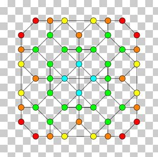 Symmetry Line Point Pattern PNG