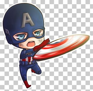 Captain America Bucky Barnes Iron Man Chibi PNG