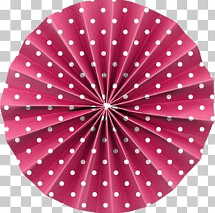 Paper Origami Circle Pattern PNG