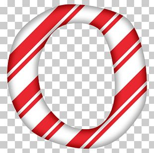 Candy Cane Letter Alphabet PNG