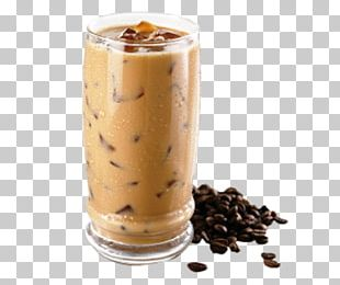 Iced Coffee Espresso Milkshake Latte PNG