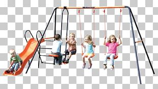 Swing Playground Slide Jungle Gym Outdoor Playset Toy PNG