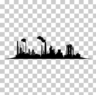 Skyline Silhouette Architecture Industry PNG