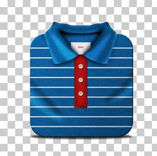 Blue Necktie Sleeve Pattern PNG
