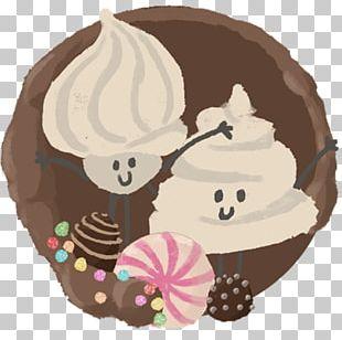 Chocolate Cake Frozen Dessert Illustration Animal PNG