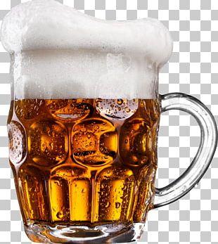 Ice Beer Beer Glasses Drink PNG