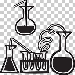 Laboratory Flasks Beaker Test Tubes Science PNG