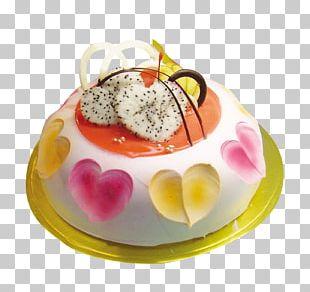 Panna Cotta Bavarian Cream Cake! PNG