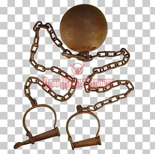Prisoner Ball And Chain Handcuffs Dungeon PNG