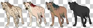 Striped Hyena Spotted Hyena African Wild Dog Mustang PNG