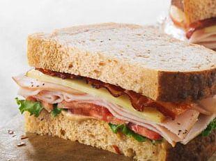 Bacon Gouda Cheese Cheese Sandwich BLT Panera Bread PNG