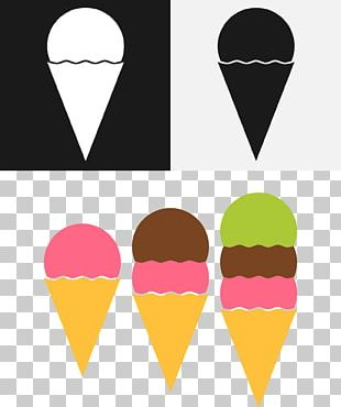Ice Cream Cones Chocolate Ice Cream PNG