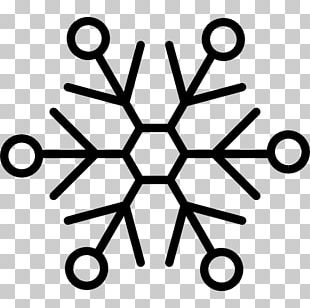 Snowflake Shape Hexagon Line Freezing PNG