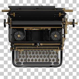 Typewriter Writing Publishing Paper PNG