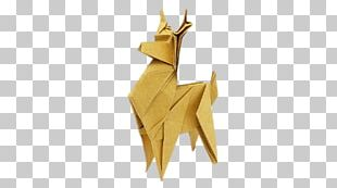 Origami Reindeer PNG