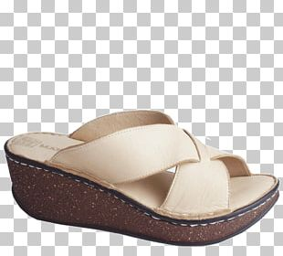 Slide Sandal Shoe PNG