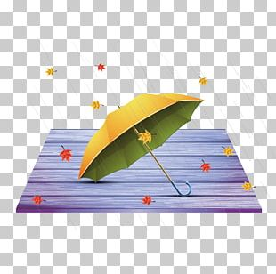Umbrella Autumn Rain PNG