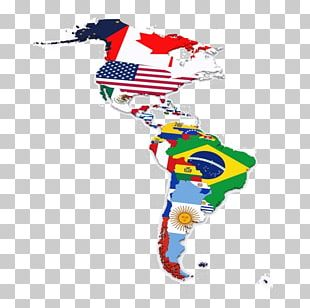 Flags Of South America United States Of America Flags Of North America Map PNG