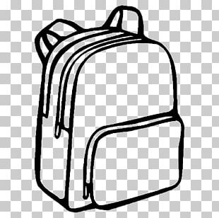 Coloring Book Backpack Bag School Drawing PNG