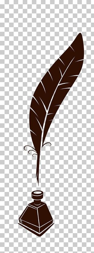 Paper Quill Feather Pen PNG