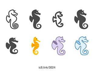 Seahorse Computer Icons Font PNG