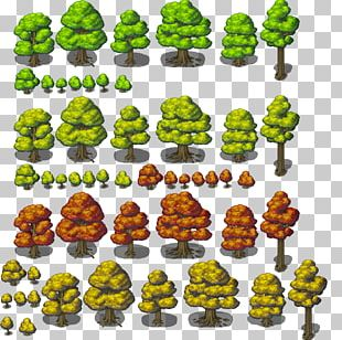 RPG Maker MV Tree Tile-based Video Game RPG Maker VX Role-playing Video Game PNG