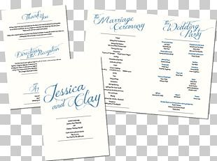 Paper Calligraphy Font PNG