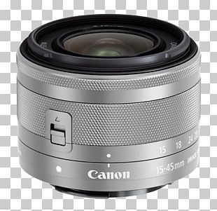 Canon EOS M100 Canon EF Lens Mount Canon EF-M Lens Mount Canon EF-M 15-45mm F/3.5-6.3 IS STM PNG